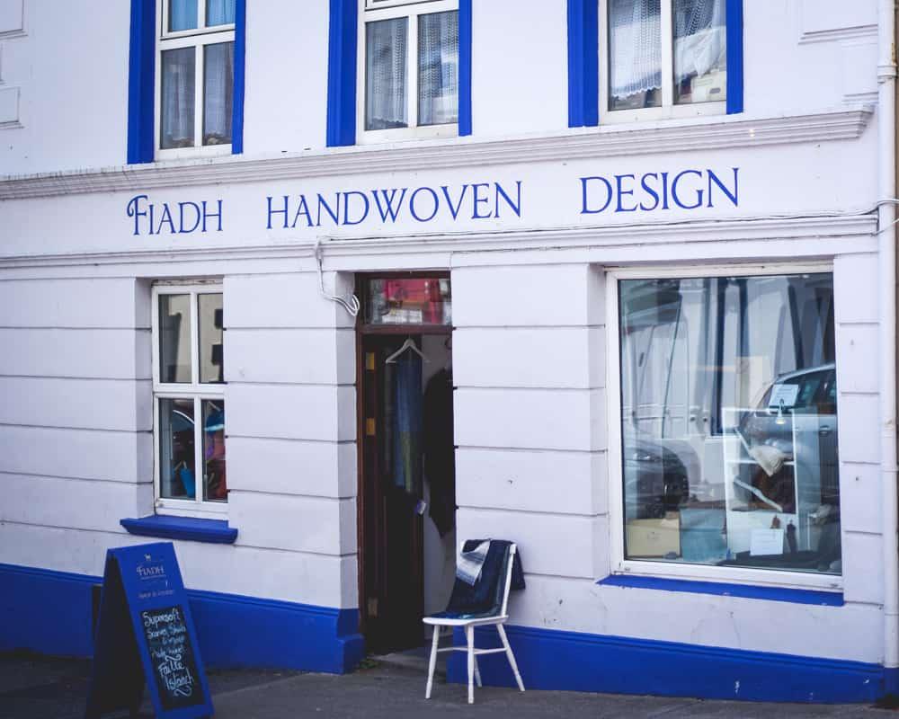 Ireland - Dingle - Fiadh Handwoven Design