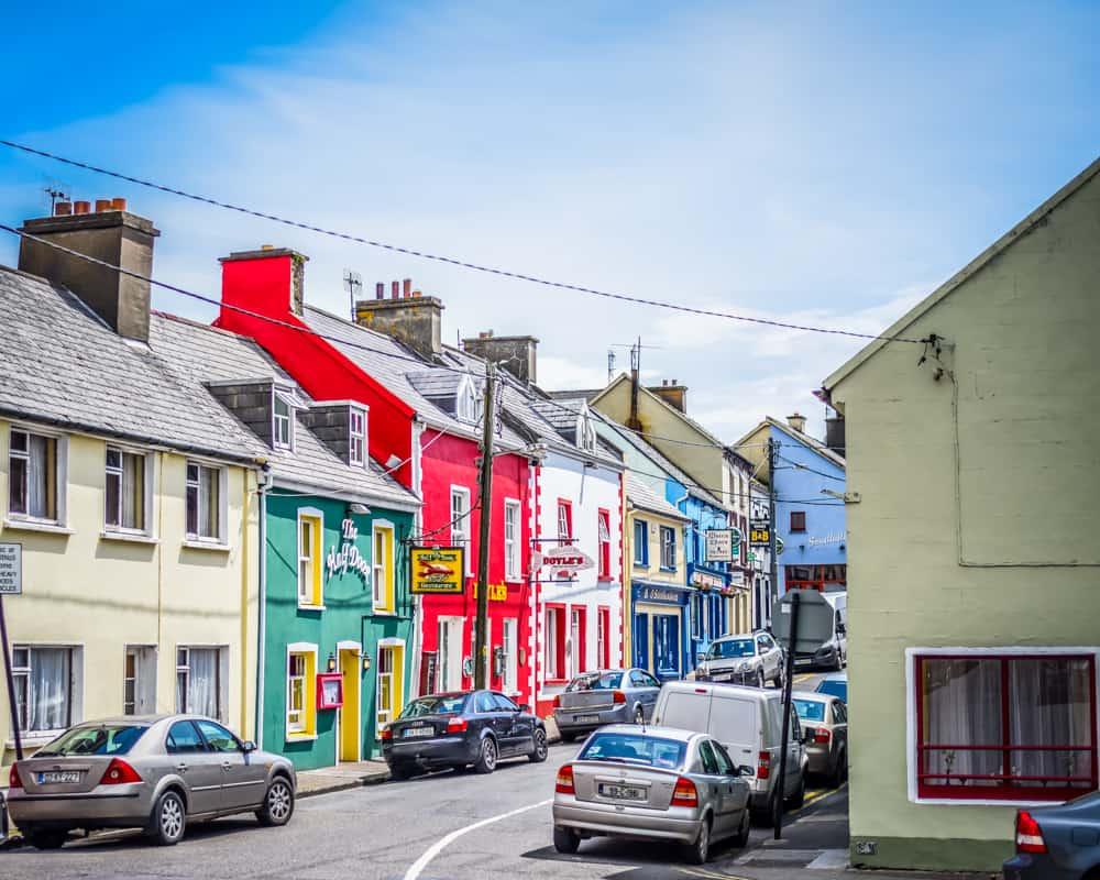 Ireland - Dingle - Colorful Houses