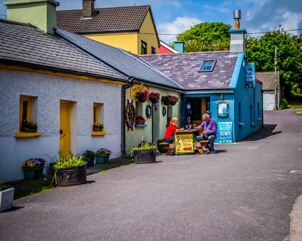 Ireland - Dingle - Traditional Music Shop