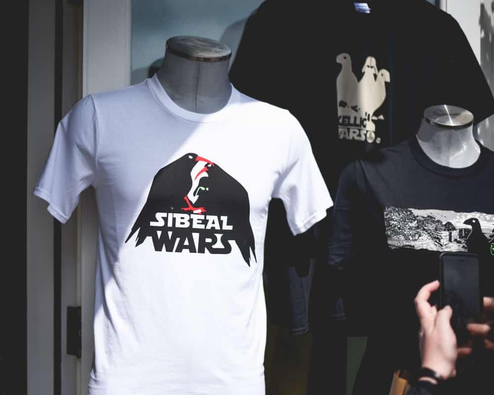 Ireland - Dingle - Star Wars Puffin Tee Shirt