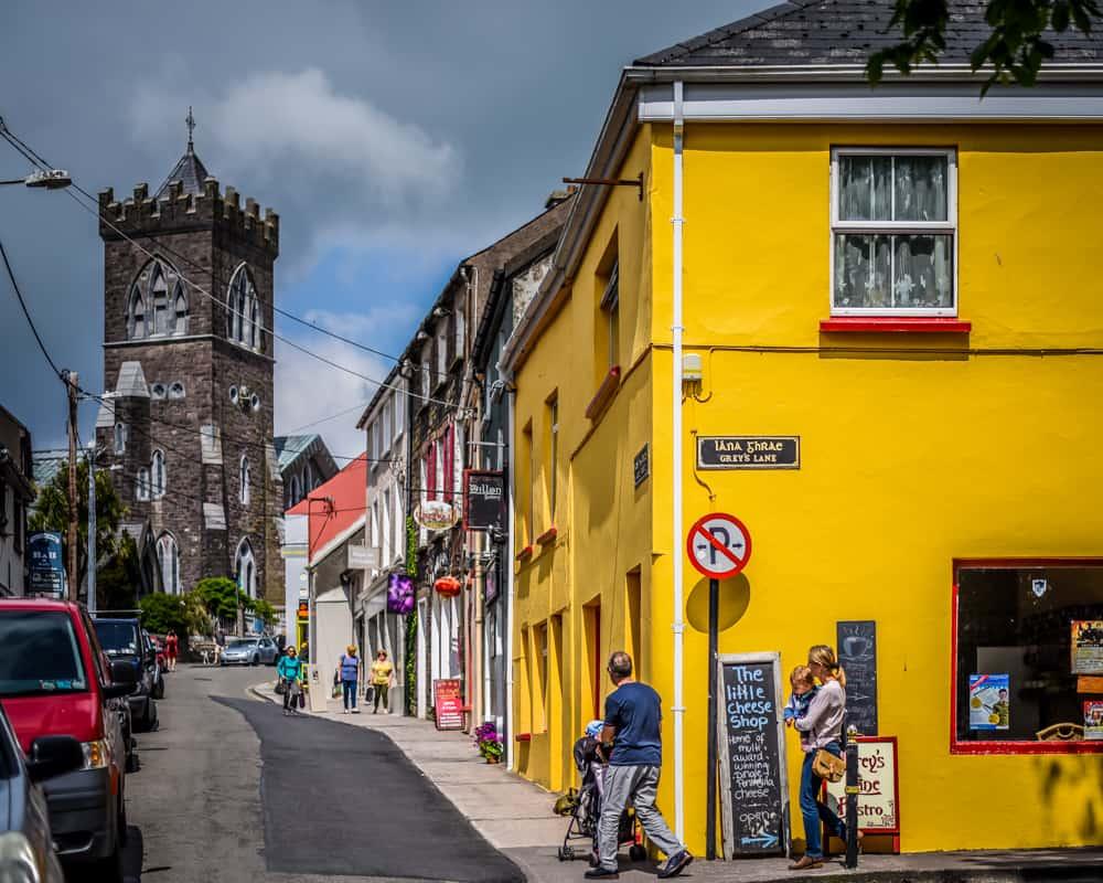 Ireland - Dingle - Colorful Buildings