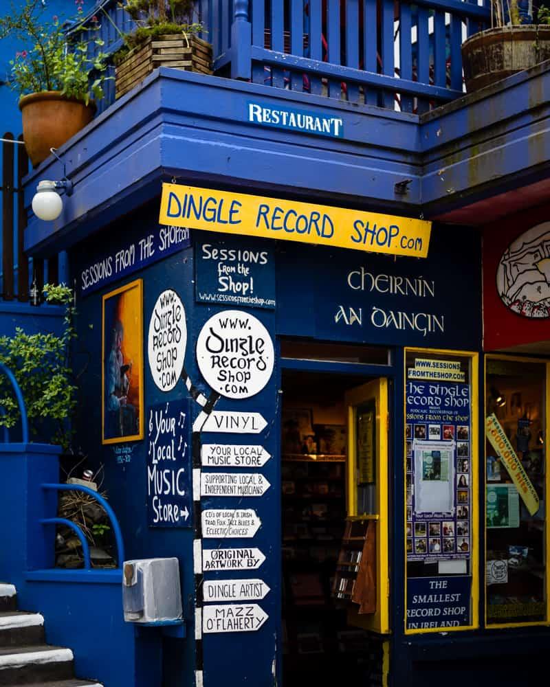 Ireland - Dingle - Dingle Record Shop