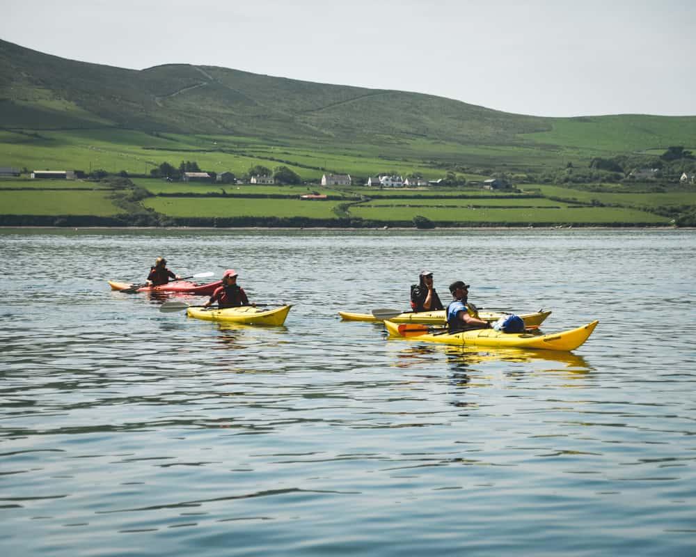 Ireland - Dingle - Kayaking