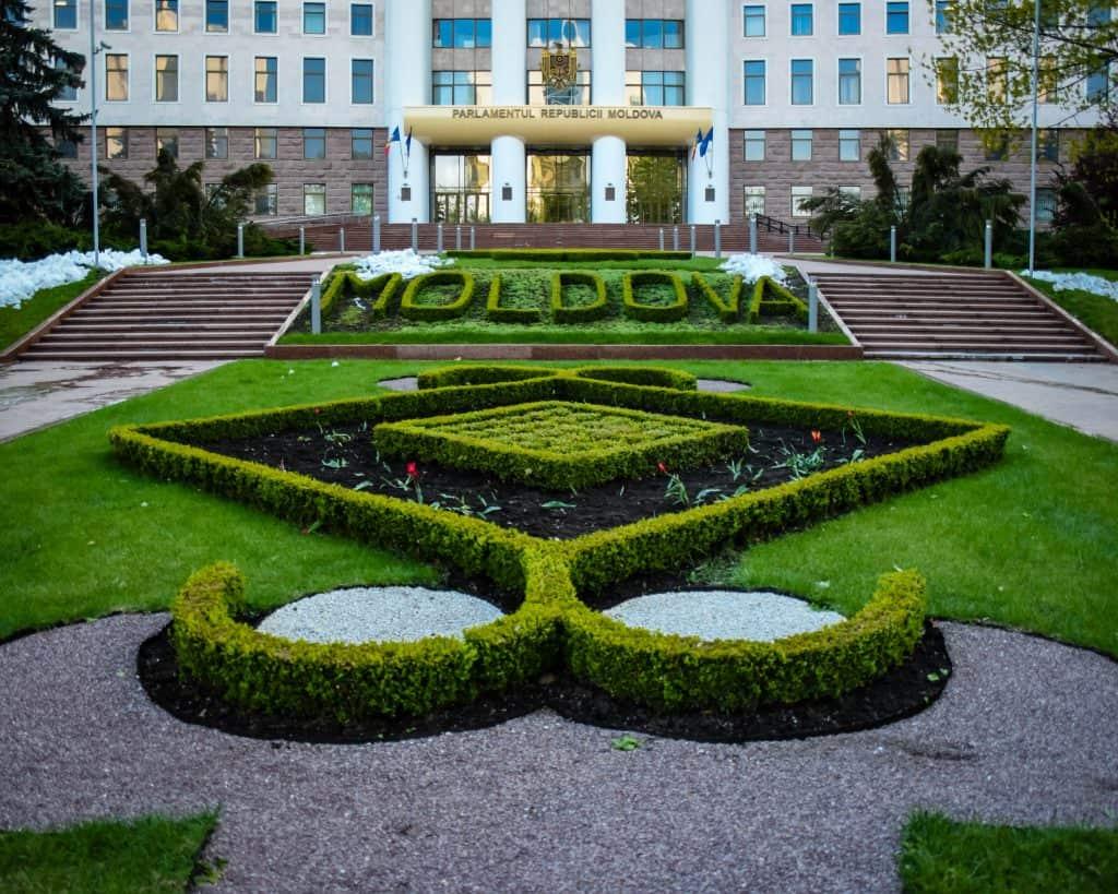 Moldova - Chisinau - Parliament Building