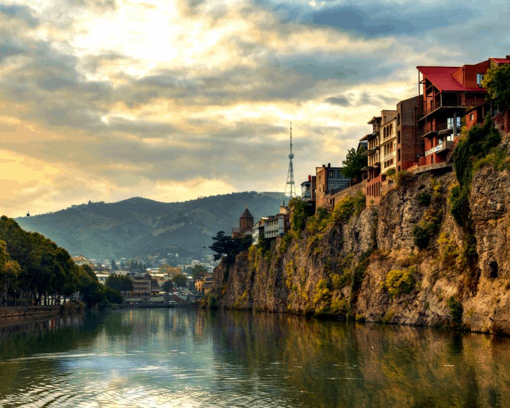 Georgia - Tbilisi - River - Canva