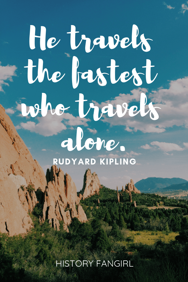 quotes about solo travelers