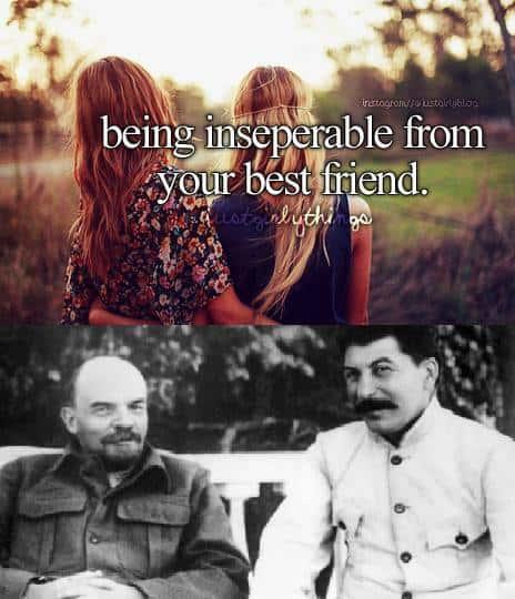 Lenin and Stalin Meme