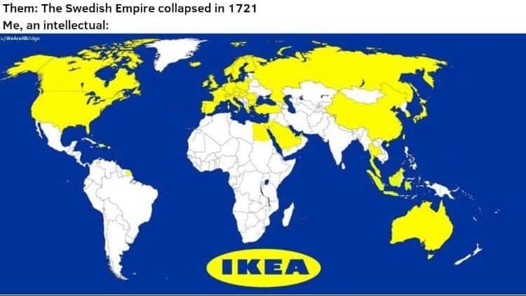 Swedish Empire Meme Ikea Meme