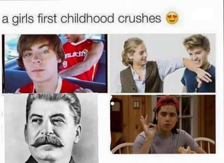 Crush on Stalin Meme