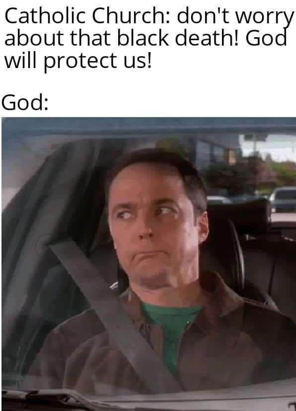 Black death meme