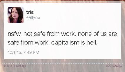 Capitalism is Hell Meme