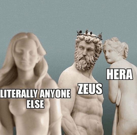 greek mythology memes