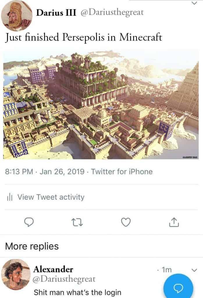 Alexander the Great meme