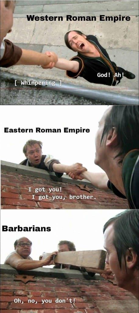 Eastern Roman Empire Meme