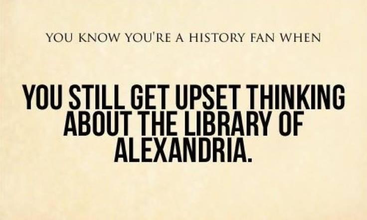 Library of Alexandria Meme