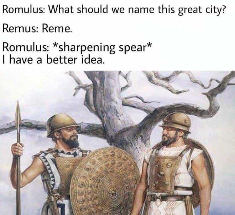 Roman Mythology Memes