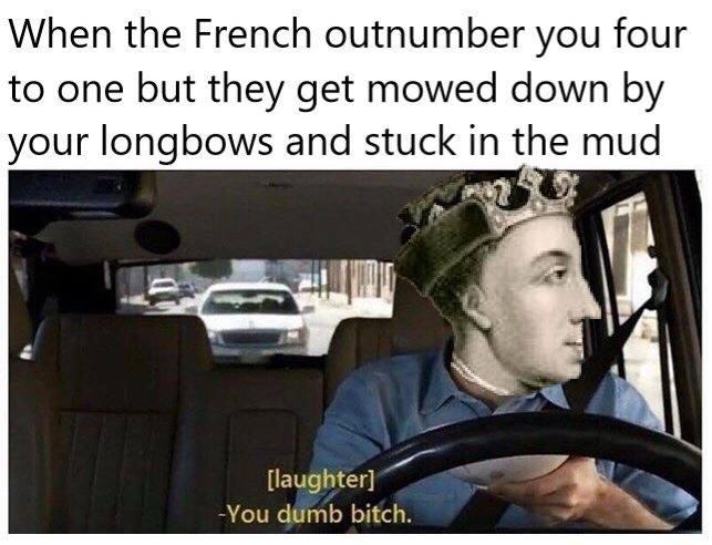 Hundred Years War Meme