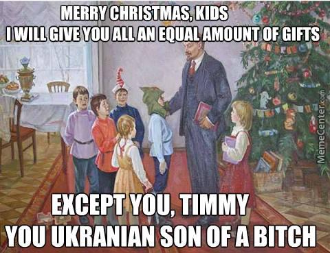 Communism Lenin Santa Meme