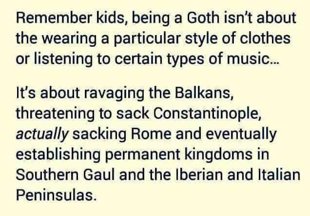 Goth memes