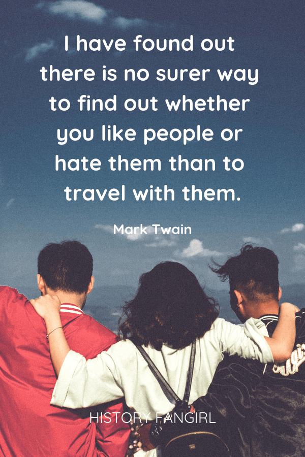 Mark Twain Travel Quotes