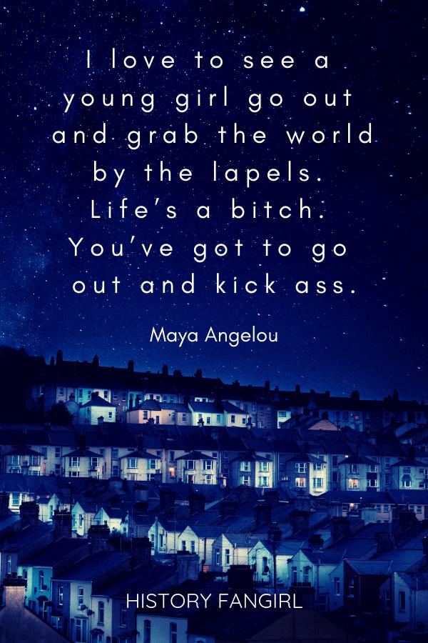 Maya Angelous Girls Travel Quote
