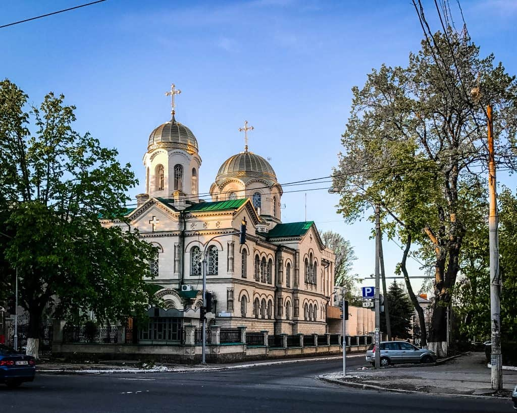 Moldova - Chisinau - Transfiguration Church