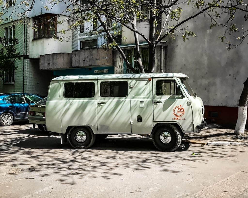 Moldova - Chisinau - Minivan