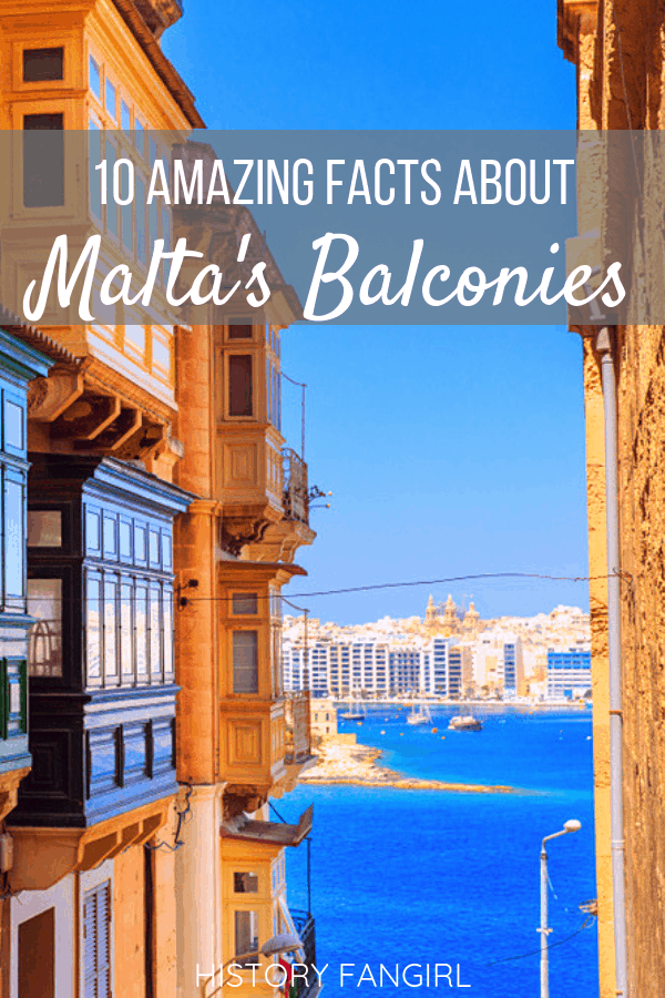 Maltese Balconies: 10 Things to Know about these Architectural Gems