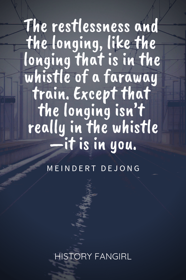 quotes about train travel