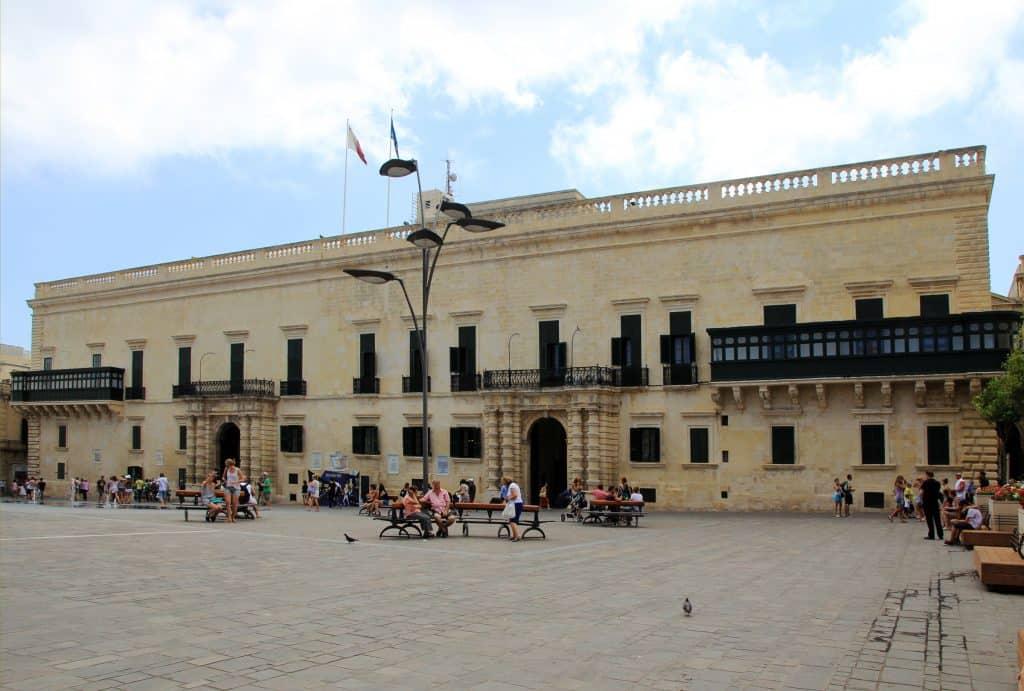 Malta - Valletta - Grand Masters Palace St. Johns Square