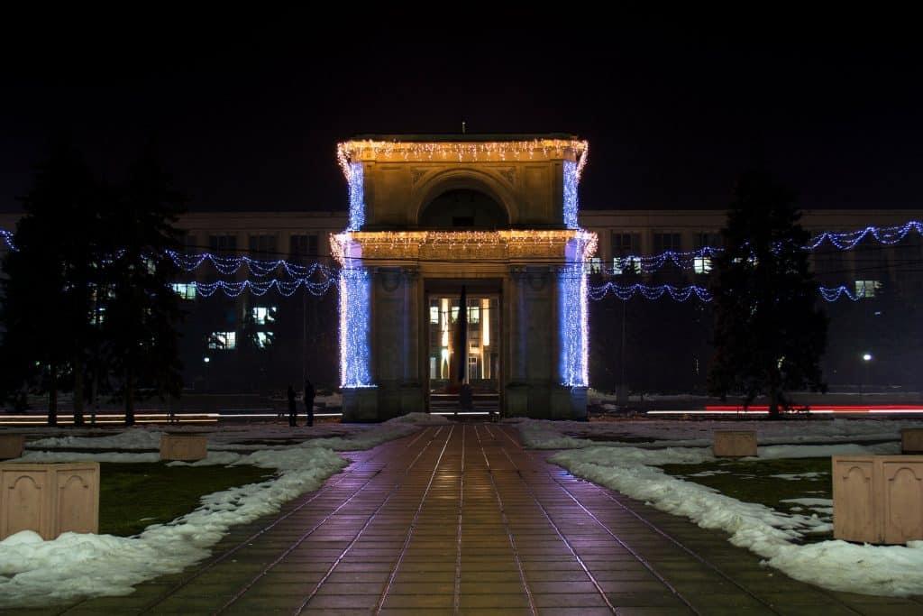 Moldova - Triumphal Arch - Pixabay - Chisinau