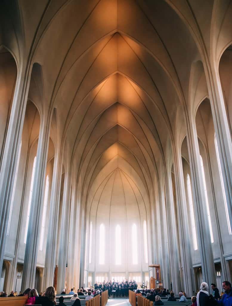 Iceland - Reykjavik - Inside Hallgrimskirkja,