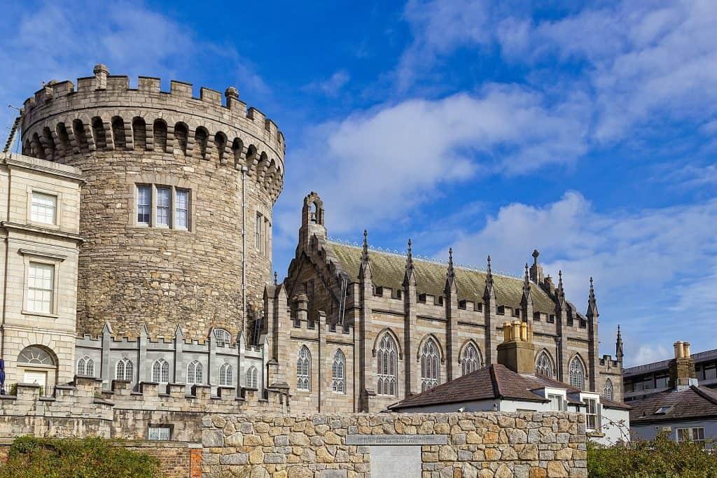 Ireland - Dubin Castle - Pixabay