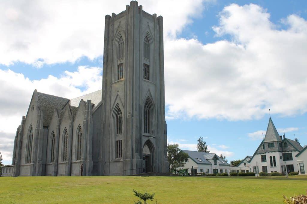 Iceland - Reykjavic - Landakotskirkja Catholic Cathedral