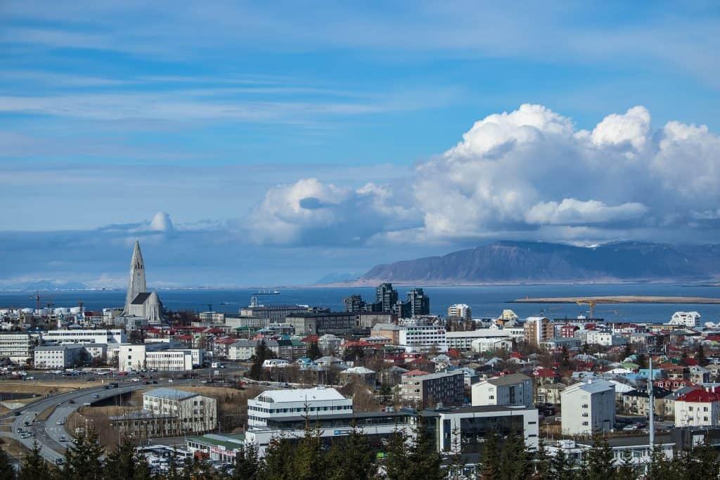 Iceland - Reykjavik - View from Perlan