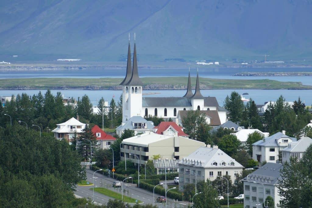 Iceland - Reykjavik - Háteigskirkja