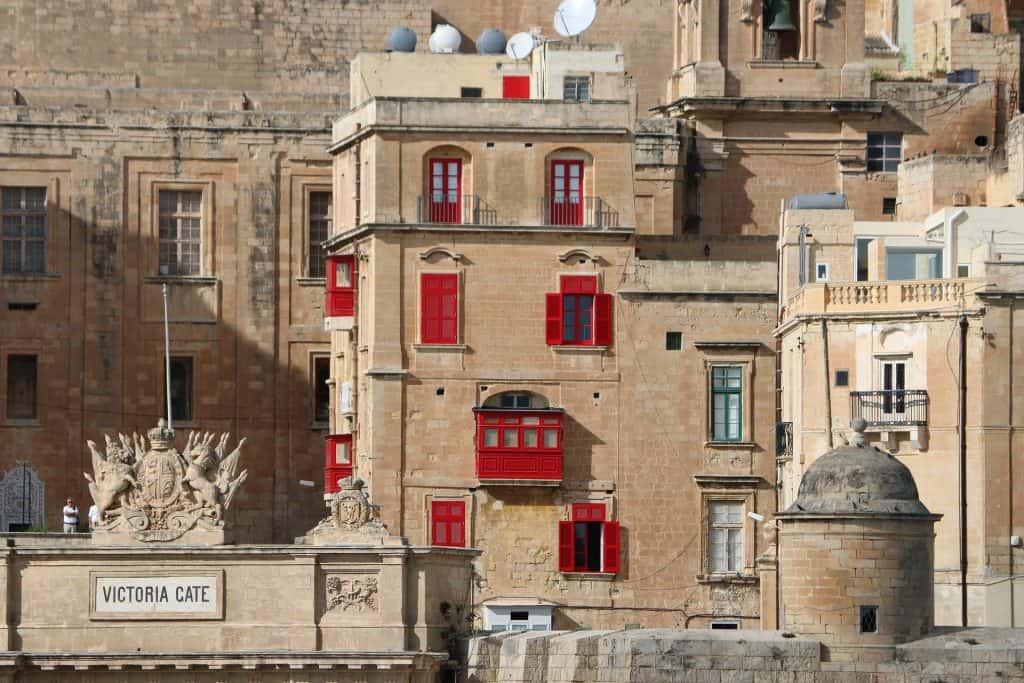 Malta - Valletta - Maltese Balcony - Victoria Cafe - Pixabay