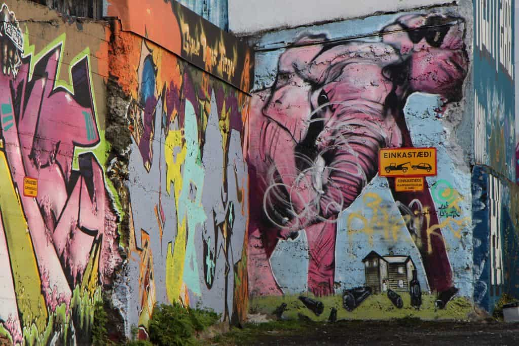 Iceland - Reykjavik - Street Art