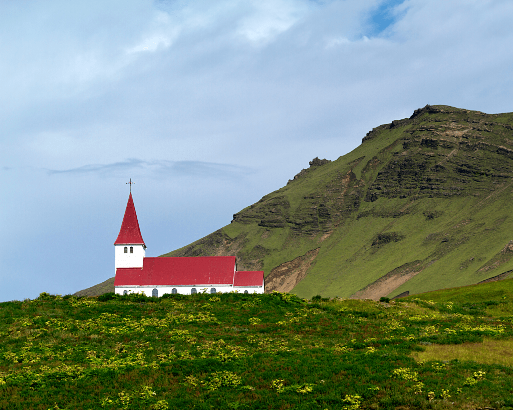 Iceland - Vik - Church - Pixabay