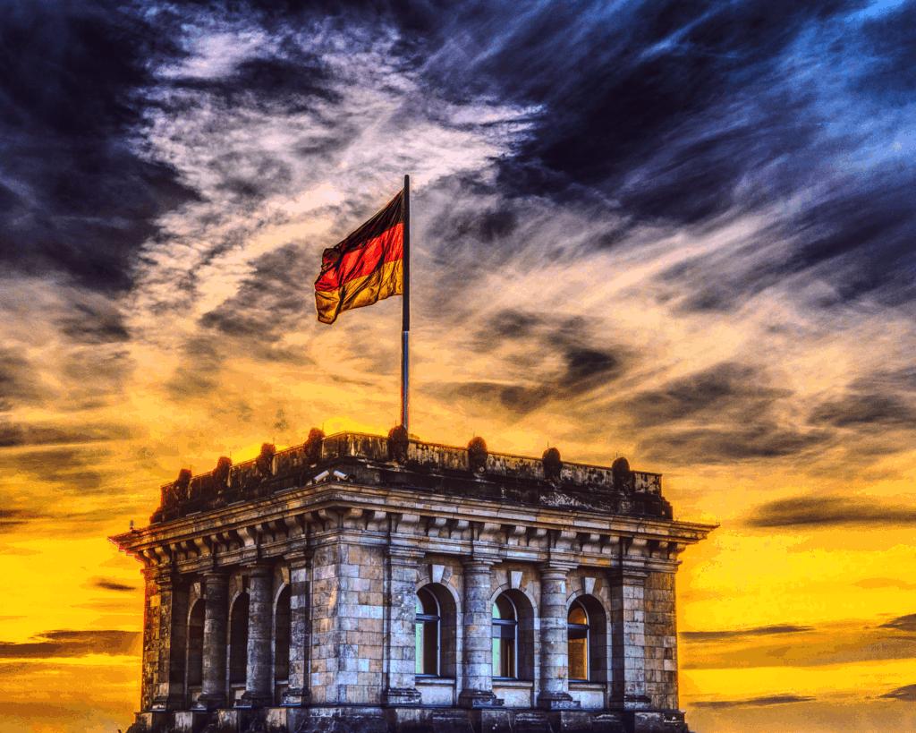 Germany - Berlin - German Flag