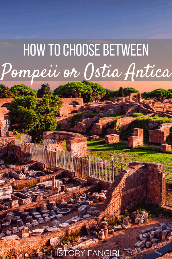 Pompeii or Ostia Antica: Which Ancient Roman City Should You Visit?