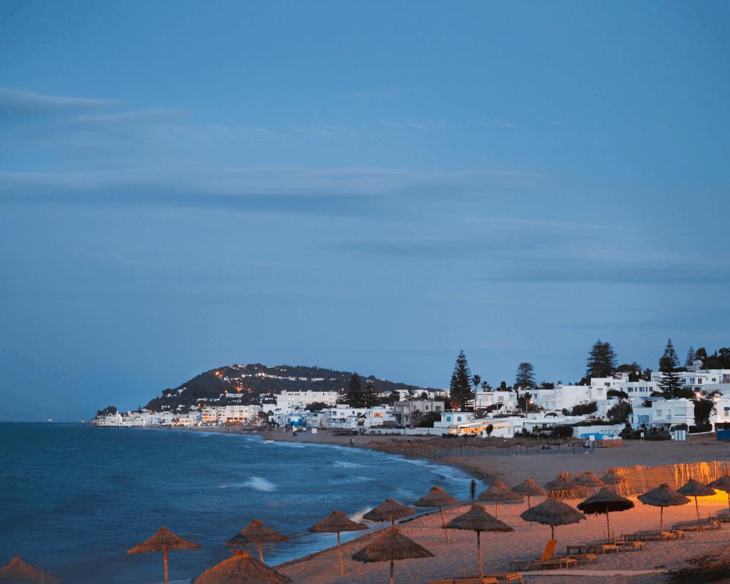 Tunisia - Gammarth - Beach