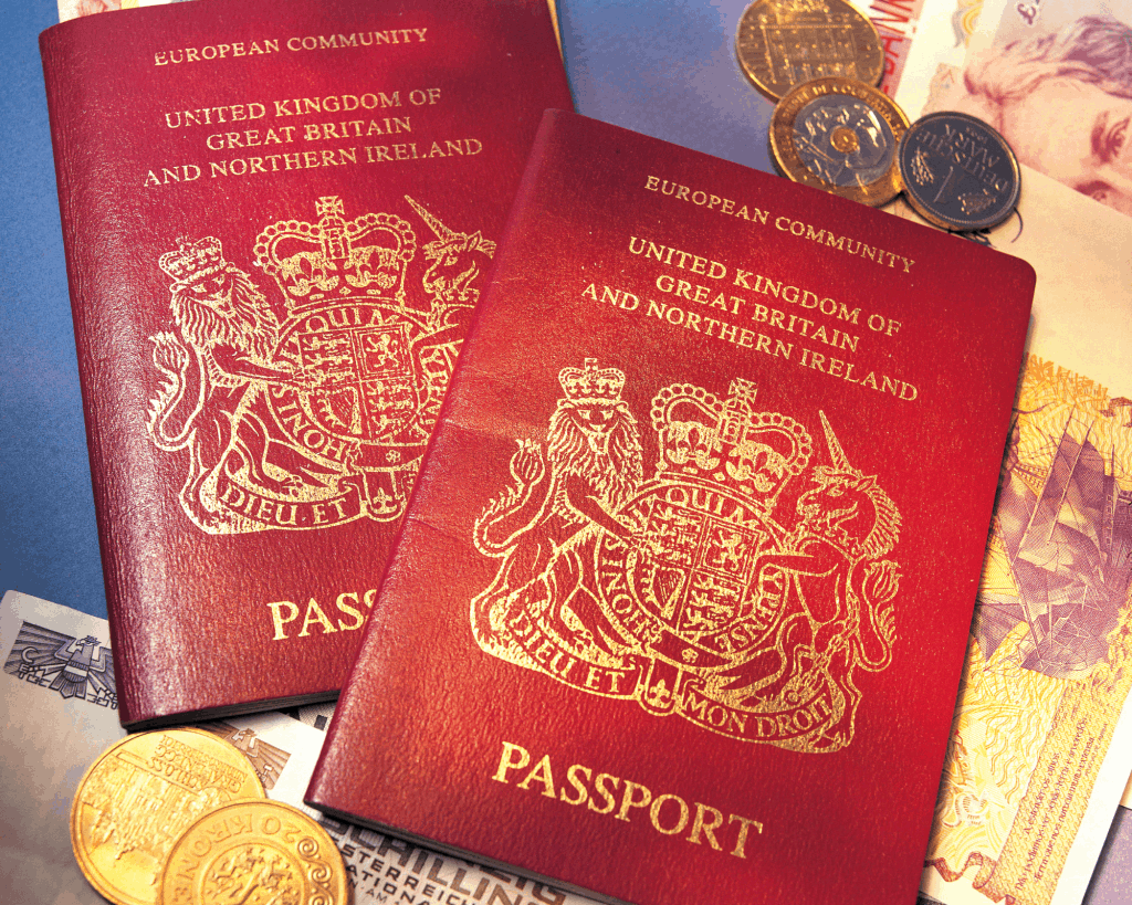 UK Passport - Canva