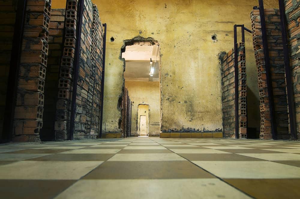 Cambodia - Phnom Penh - Khmer Rouge Cambodia Prison S21