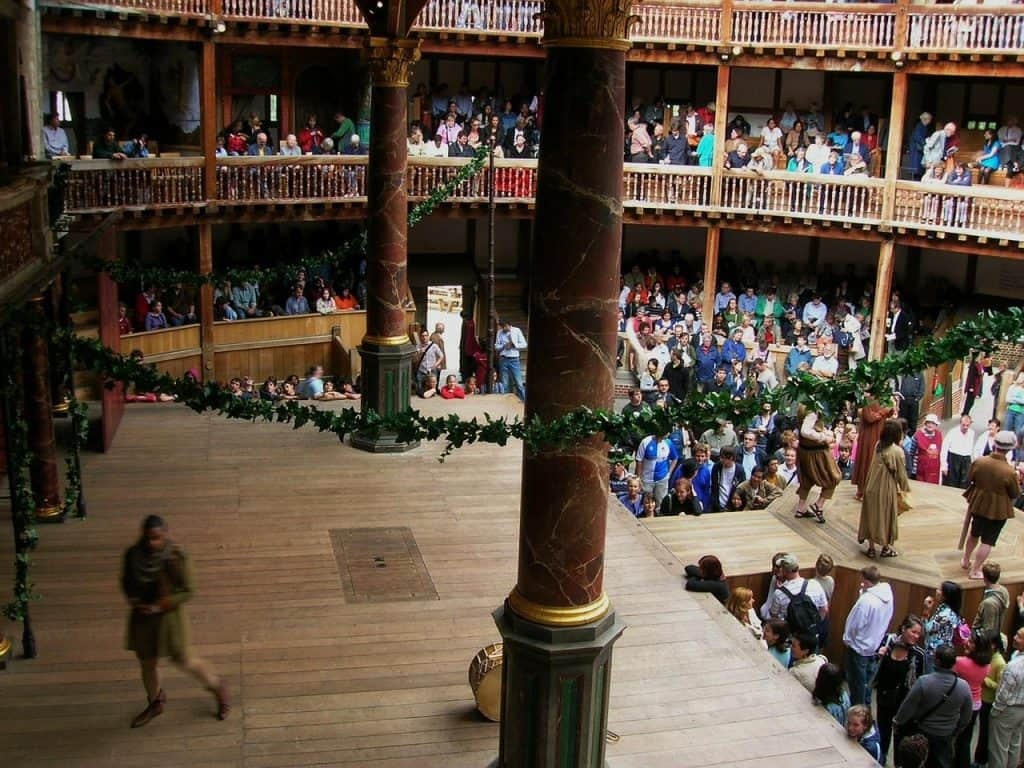 England - London - Globe Theater