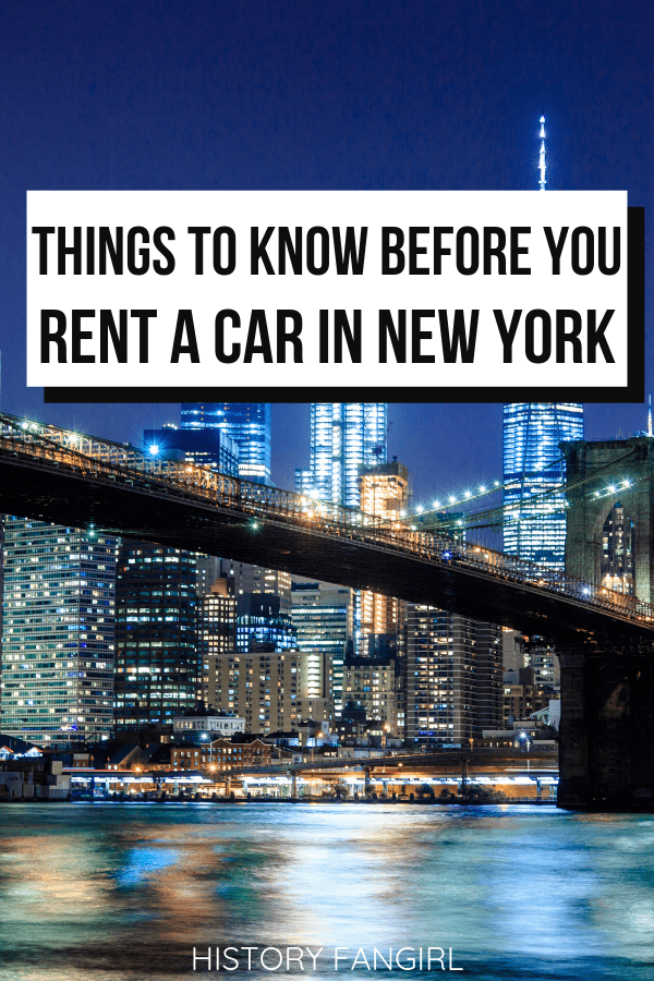 17 Things to Know Before You Rent a Car in New York