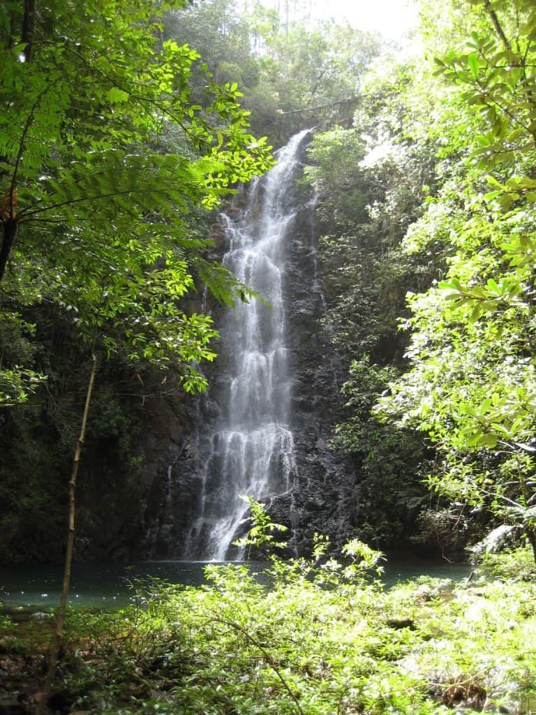 Belize - Butterfly Falls - Where to go in Belize