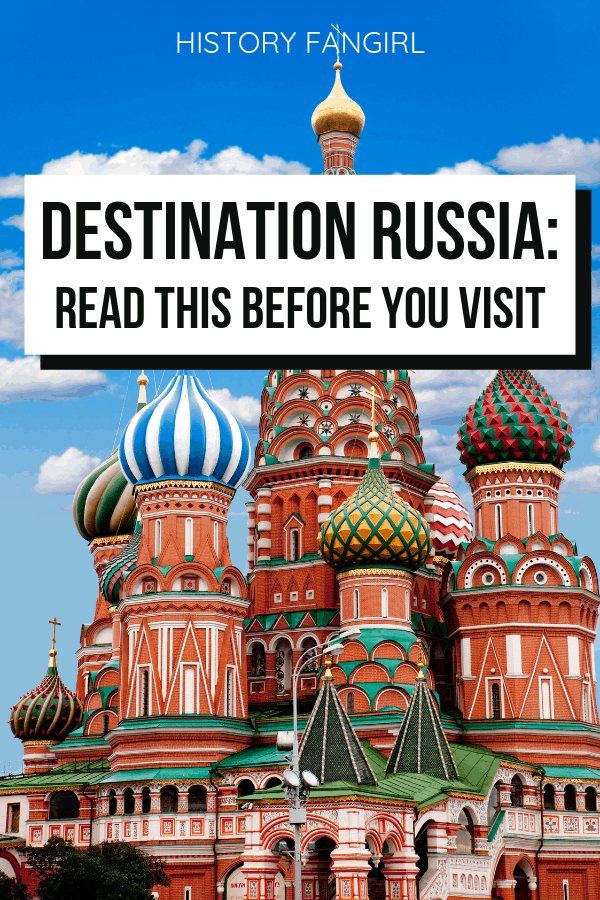 Destination Russia: A Delightful Travel Memoir about the Voyage East