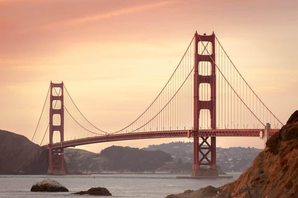 California - San Francisco - Golden Gate Bridge