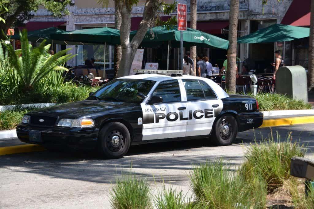 Florida - Miami - Police Car
